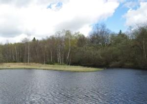 See am Roten Moor in der Rhoen