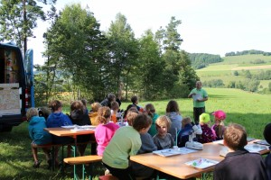 RhoenGuides-Klassenfahrt Natur und Umwelt mit RhoenGuide Michael