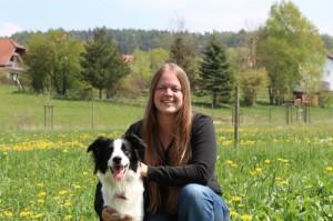Sprachhund® Lady und Andrea Seifert_www.spracherlebniscamp.de